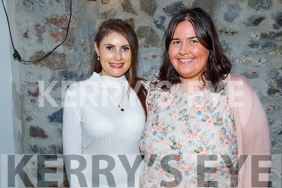 Linda Larkin and Rachel Foran enjoying the evening in Bella Bia on Saturday.