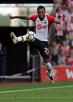 Ryan Bertrand of Southampton fails to stop the ball during the Premier League match between Southampton and Swansea City at the St Mary's Stadium, Southampton, England, UK. Saturday 12 August 2017