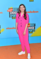 SANTA MONICA, USA. July 11, 2019: Kate Godfrey at Nickelodeon's Kids' Choice Sports Awards 2019 at Barker Hangar.<br /> Picture: Paul Smith/Featureflash