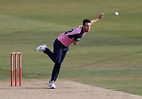 Nathan Sowter bowls for Middlesex during Kent Spitfires vs Middlesex, Vitality Blast T20 Cricket at The Spitfire Ground on 16th September 2020