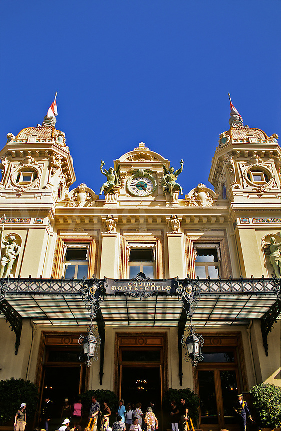 Monaco, the Casino at Monte Carlo.