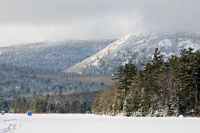Ice Shack on Eagle Lake #A31