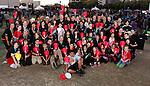Sandisk workers participate in the Light The Night fund raising event in San Jose, Calif., Saturday, Oct. 19, 2013. (Photo by Paul Sakuma, Paul Sakuma Photography) www.paulsakuma.com