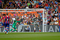 GOAL - Vedad Ibišević of Hertha Berlin scores during the pre season friendly match between Crystal Palace and Hertha BSC at Selhurst Park, London, England on 3 August 2019. Photo by Carlton Myrie / PRiME Media Images.