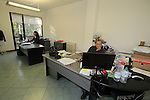 Sales staff hard at work in their office Santini Factory, Lallio, Italy. 30th September 2015.<br /> Picture: Eoin Clarke | Newsfile