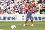 Barcelona´s Neymar Jr during La Liga match at Zorrilla Stadium in VAlladolid, Spain. March 08, 2014. (ALTERPHOTOS/Victor Blanco)