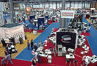 Showroom at the Data Interface Expo, Las Vegas, 1978