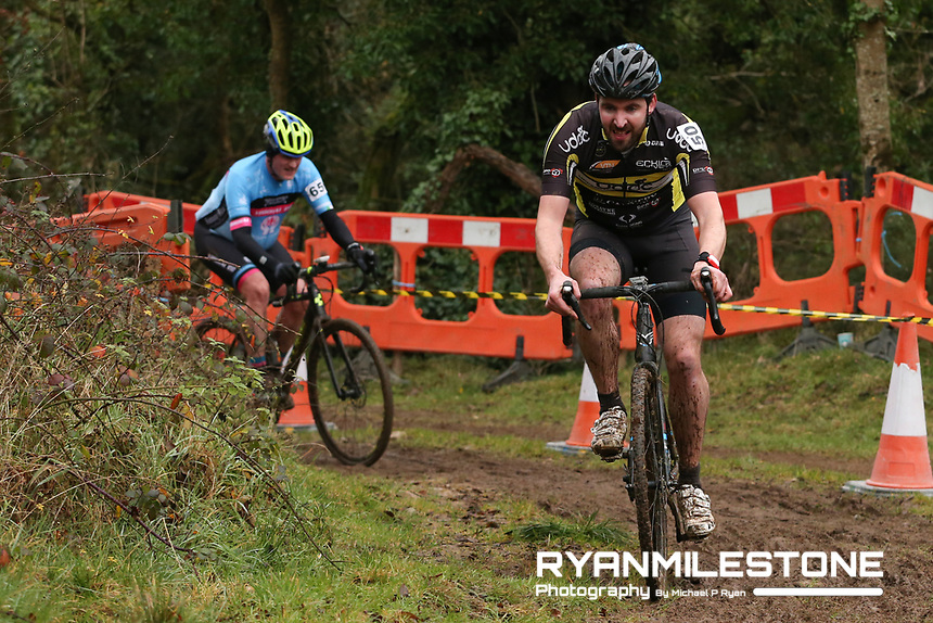 EVENT:<br /> Round 5 of the 2019 Munster CX League<br /> Drombane Cross<br /> Sunday 1st December 2019,<br /> Drombane, Co Tipperary<br /> <br /> CAPTION:<br /> Micheal Cahill of Upperchurch Drombane Cycling Club in action during the B Race<br /> <br /> Photo By: Michael P Ryan