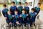 Students from CBS The Green, winners of the All Ireland Cross Country 2020.<br /> Front l to r: Dave Lucid, Kealan Best, Liam Óg O'Connor and Ryan Houlihan.<br /> Back l to r: Hugh Lenihan, Jack O'Donoghue, Maurice Lenihan, Eoin O'Flaherty and Sean Og Brosnan.