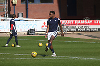 3rd April 2021; Dens Park, Dundee, Scotland; Scottish FA Cup Football, Dundee FC versus St Johnstone; Jonathan Afolabi of Dundee during the warm up before the match