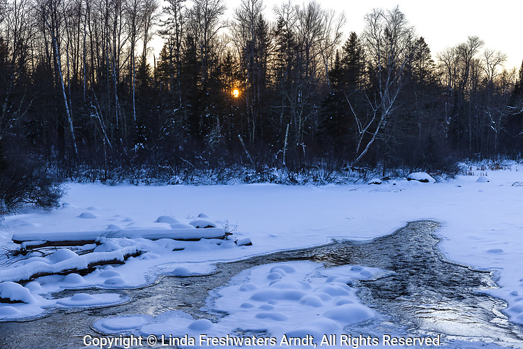 The Chippewa River in the Chequamegon National Forest.