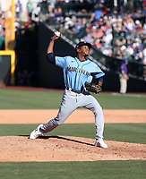 Dayeison Arias - Seattle Mariners 2020 spring training (Bill Mitchell)