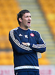 St Johnstone v Hamilton Accies...12.09.15  SPFL McDiarmid Park, Perth<br /> Martin Canning looks on<br /> Picture by Graeme Hart.<br /> Copyright Perthshire Picture Agency<br /> Tel: 01738 623350  Mobile: 07990 594431