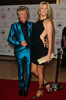 BEVERLY HILLS, CA, USA - OCTOBER 11: Rod Stewart, Penny Lancaster arrive at the 2014 Carousel Of Hope Ball held at the Beverly Hilton Hotel on October 11, 2014 in Beverly Hills, California, United States. (Photo by Celebrity Monitor)