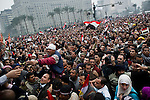 """Remi OCHLIK/IP3 -  February 5 2011  CAIRO - The top leadership body of Egypt's ruling party resigned Saturday, including the president's son, but the regime appeared to be digging in its heels, calculating that it can ride out street demonstrations and keep President Hosni Mubarak in office. Protesters have refused to end their mass rallies in downtown Tahrir Square until Mubarak quits. Tens of thousands gathered Saturday in Tahrir, waving flags and chanting a day after some 100,000 massed there in an intensified demonstration labeled """"the day of departure,"""" in hopes it would be the day Mubarak leaves...Their unprecedented 12-day movement has entered a delicate new phase. Organizers fear that without the pressure of protesters on the street, Mubarak's regime will enact only cosmetic reforms and try to preserve its grip on power. So they are reluctant to lift their demonstrations without the concrete gain of Mubarak's ouster and a transition mechanism that guarantees a real move to democracy afterward"""