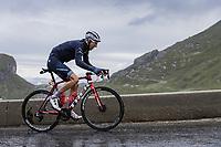 Bauke Mollema (NED/Trek-Segafredo) up the Cormet de Roselend<br /> <br /> &Stage 9 from Cluses to Tignes (144.9km)<br /> 108th Tour de France 2021 (2.UWT)<br /> <br /> ©kramon
