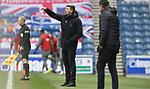 26.12.2020 Rangers v Hibs: Steven Gerrard