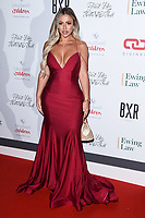 Holly Hagan<br /> arriving for the Float Like a Butterfly Ball 2019 at the Grosvenor House Hotel, London.<br /> <br /> ©Ash Knotek  D3536 17/11/2019