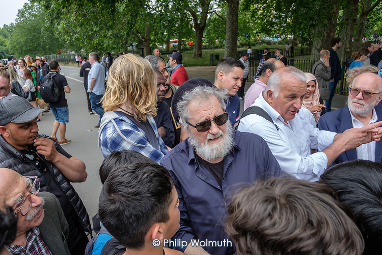 Speakers' Corner, Hyde Park, London.