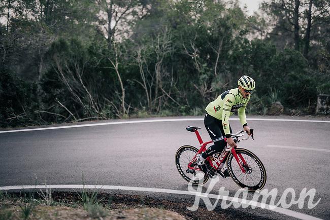 John DEGENKOLB (DEU/Trek-Segafredo)<br /> <br /> Team Trek-Segafredo men's team<br /> training camp<br /> Mallorca, january 2019<br /> <br /> ©kramon