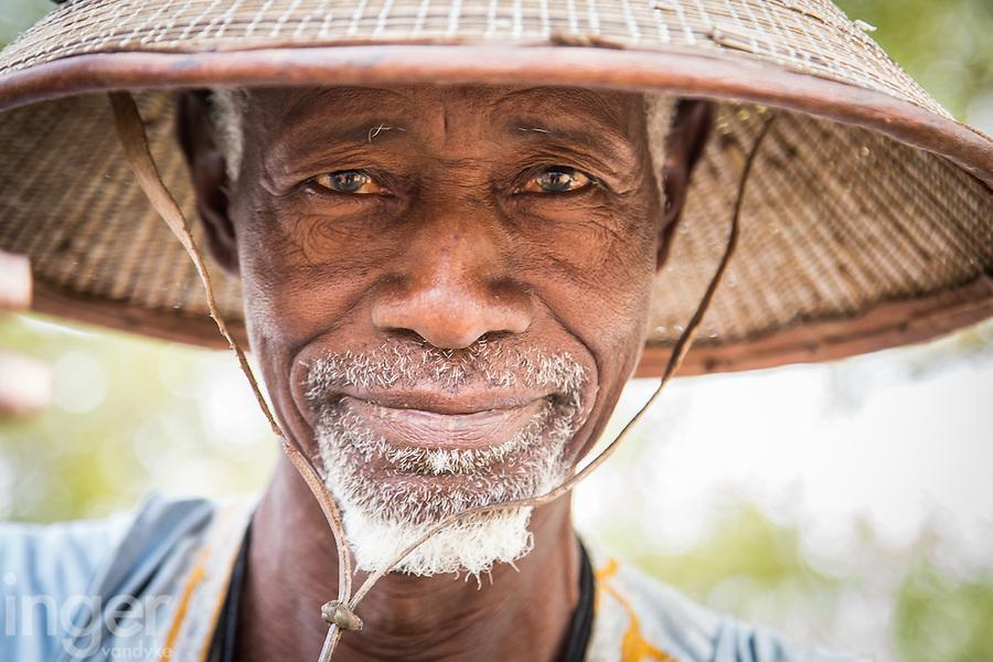 Fulani tribesman at Tambacounda, Senegal