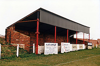 General view of the Hill Top Ground, Stanley United Football Club, High Road, Stanley, near Crook on 7th April 1996