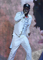 NEW YORK, NY- SEPTEMBER 25: Meek Mill at the 2021 Global Citizen Live Festival at the Great Lawn in Central Park, New York City on September 25, 2021. Credit: John Palmer/MediaPunch