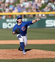 Wyatt Short - Chicago Cubs 2020 spring training (Bill Mitchell)