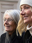 "Pic shows: Vanessa Redgrave and Joely Richardson<br /> Funeral of Roger Lloyd-Pack - ""Trigger"" from Only Fools and Horses.<br /> <br /> Mourners arriving at the service at Actors Church in Covent Garden -<br /> <br /> <br /> <br /> <br /> Pic by Gavin Rodgers/Pixel 8000 Ltd"
