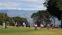 Spectators during the finals of the New Zealand Amateur Golf Championship, Poverty Bay Golf Course, Awapuni Links, Gisborne, Sunday 25 October 2020. Photo: Simon Watts/www.bwmedia.co.nz