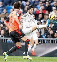 Real Madrid's Isco during La Liga match.January 31,2015. (ALTERPHOTOS/Acero) /NortePhoto<br /> /NortePhoto.com