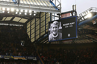 A one minute applause took place ahead of kick off to honour the life of Ex Liverpool and England player, Roger Hunt who recently died during Chelsea vs Southampton, Premier League Football at Stamford Bridge on 2nd October 2021