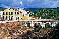 Cidade de Lençóis na Bahia. 2001. Foto de Renata Mello.