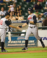 Koshansky, Joe 5004.jpg. Nashville Sounds at Round Rock Express. August 27th, 2009 at the Dell Diamond in Round Rock, Texas. Photo by Andrew Woolley.