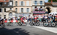 Nairo Quintana (COL/Arkea Samsic) rolling through town<br /> <br /> Stage 7 from Vierzon to Le Creusot (249km)<br /> 108th Tour de France 2021 (2.UWT)<br /> <br /> ©kramon