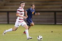 STANFORD, CA - October 4, 2012: Stanford vs Cal men's soccer match in Stanford, California. Final score, Stanford 2, Cal 0.