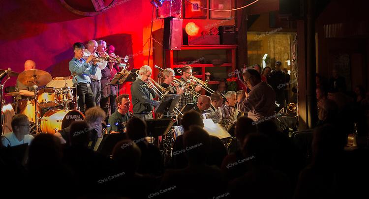 Hard Rubber Orchestra plays Mahavishnu Orchestra at Ironworks.