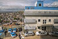 Unidade de Policia Pacificadora, UPP na favela do Complexo do Alemao. Rio de Janeiro. 2015. Foto de Sergio Amaral.