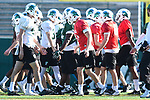 Tulane Spring Football 2017 (practice #6)