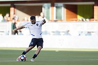 SAN JOSE, CA - AUGUST 03: Vako  prior to a Major League Soccer (MLS) match between the San Jose Earthquakes and the Columbus Crew on August 03, 2019 at Avaya Stadium in San Jose, California.