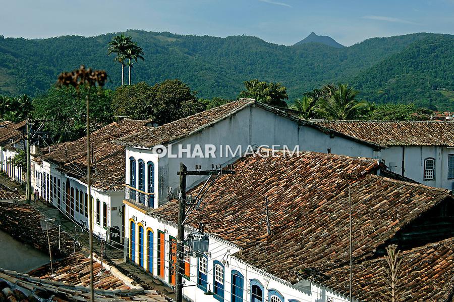 Cidade colonial de Paraty. Rio de Janeiro. 2006. Foto de Rogério Reis.