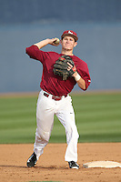 Kent Burckle (3) of the Loyola Marymount Lions throws before a game against the TCU Horned Frogs at Page Stadium on March 16, 2015 in Los Angeles, California. TCU defeated Loyola, 6-2. (Larry Goren/Four Seam Images)