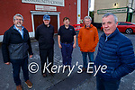 Rathmore Community Council got funding of €1,560 as part of funding by The Department of Rural and Community Development for Community and Voluntary Groups throughout County Kerry. Front right: Brian Kelly (Chairman). Back l to r: Dermot McCarthy, Tom Fox, Christy Dennehy and David Twomey