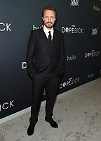 """NEW YORK CITY - OCTOBER 4: John Hoogenakker attends the red carpet premiere of Hulu's """"DOPESICK"""" at the Museum of Modern Art on October 4, 2021 in New York City. . (Photo by Frank Micelotta/Hulu/PictureGroup)"""