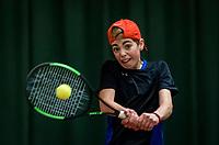 Wateringen, The Netherlands, November 27 2019, De Rhijenhof , NOJK 12 and16 years, Kiet Janssen (NED)<br /> Photo: www.tennisimages.com/Henk Koster