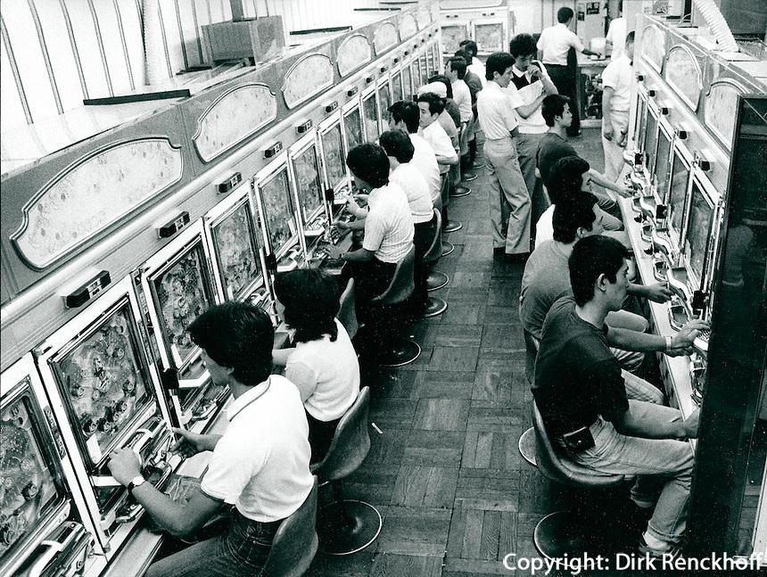 Pachinko-Spielhalle in Japan