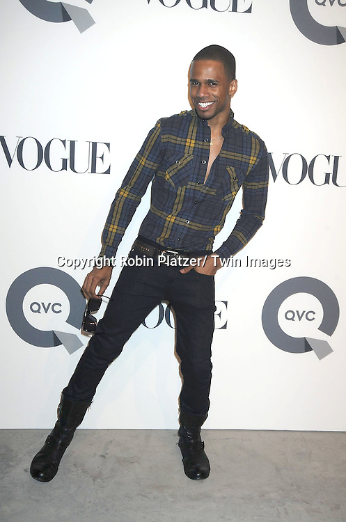 Eric Ortego attending The QVC and Vogue Fashion Week Party on February 11, 2011 at 229 West 43rd Street in New York City.