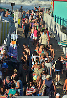 Mar del Platta, Argentina.29/01/2012.Temporana de verano 2012Thousands of people fill the beaches of Mar del Plata, the main beach resort of Argentina in the best tourism season ever in the city. Around 1.5 million visitors crowded the city during January, the first month of summer in this southern country. The summer tourism reflects the growth of Argentinean GDP estimated in 9.1 percent during 2011.