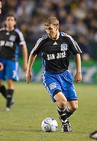 Ronnie O'Brien,.San Jose Earthquakes vs Los Angeles Galaxy, April 4, 2008, in Carson California. The Galaxy won 2-0.