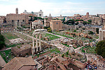 The Forum in Rome, located in walking distance of the Coliseum boasts so much history that you cannot help but feel it as you walk through the ruins.